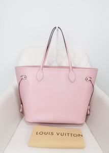 Louis Vuitton Pink Epi Neverfull MM