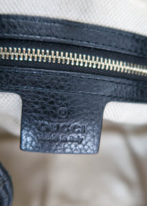 Gucci Black SoHo Leather Tote