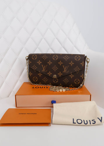 Louis Vuitton Monogram Felicie Crossbody