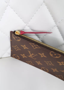 Louis Vuitton Monogram Zipped Felicie Insert