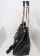 Load image into Gallery viewer, Gucci Black SoHo Leather Tote