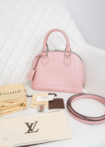 Louis Vuitton Epi Pink Alma BB