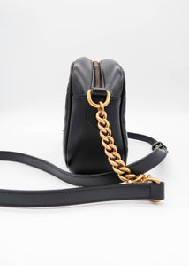 Gucci Marmont Matelassé Black Shoulder Bag