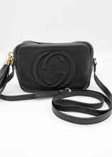 Load image into Gallery viewer, Gucci Black SoHo Disco Shoulder Bag