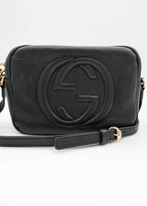Gucci Black SoHo Disco Shoulder Bag