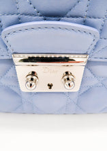 Load image into Gallery viewer, Dior Blue Miss Dior Lambskin Flap