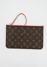 Load image into Gallery viewer, Louis Vuitton Monogram & Pink Neverfull Pochette