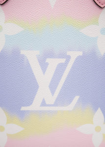 Louis Vuitton Escale Pastel Pink OnTheGo