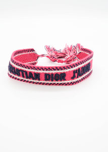 Dior J'Adior Hot Pink Friendship Bracelet