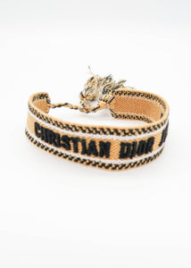 Dior Yellow J'adior Friendship Bracelet