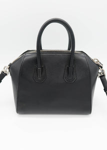 Givenchy Black Mini Antigona Shoulder Bag