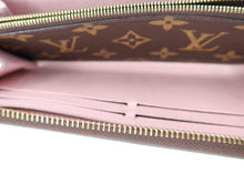 Load image into Gallery viewer, Louis Vuitton Monogram w/ Light Pink Clemence Wallet