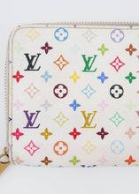 Load image into Gallery viewer, Louis Vuitton White Multicolor Zippy Wallet