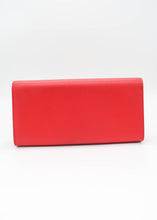 Load image into Gallery viewer, YSL Red Kate Grain de Poudre Clutch