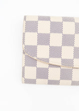 Load image into Gallery viewer, Louis Vuitton Damier Azur Emilie Wallet