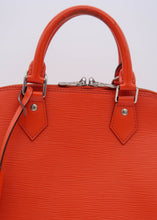 Load image into Gallery viewer, Louis Vuitton Orange Epi Alma PM