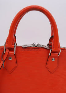 Louis Vuitton Orange Epi Alma PM