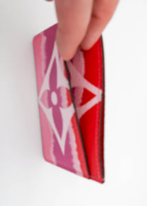 Louis Vuitton Red Escale Monogram Card Holder