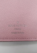 Load image into Gallery viewer, Louis Vuitton Pink Escale Victorine Wallet