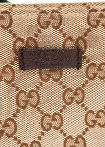 Gucci Monogram Canvas Shoulder Bag