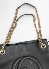 Load image into Gallery viewer, Gucci Black Soho Tote