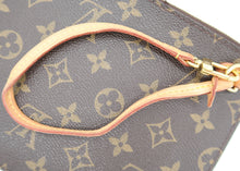 Load image into Gallery viewer, Louis Vuitton Monogram w/ Beige Neverfull Pochette
