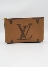 Load image into Gallery viewer, Louis Vuitton Reverse Monogram Double Pochette