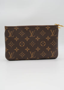 Louis Vuitton Reverse Monogram Double Pochette