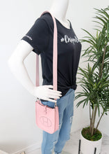 Load image into Gallery viewer, Hermes Pink Taurillon Clemence TPM Shoulder Bag