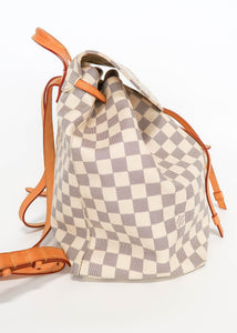 Louis Vuitton Damier Azur Sperone Backpack