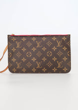 Load image into Gallery viewer, Louis Vuitton Monogram w/ Pink Neverfull Pochette