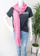 Load image into Gallery viewer, Gucci Monogram Reversible Pink Scarf