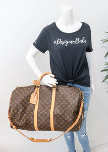 Louis Vuitton Monogram Keepall 55 Bandouliere