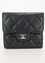 Load image into Gallery viewer, Chanel Black Caviar Classic Wallet