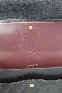 Chanel Caviar Black Maxi Flap