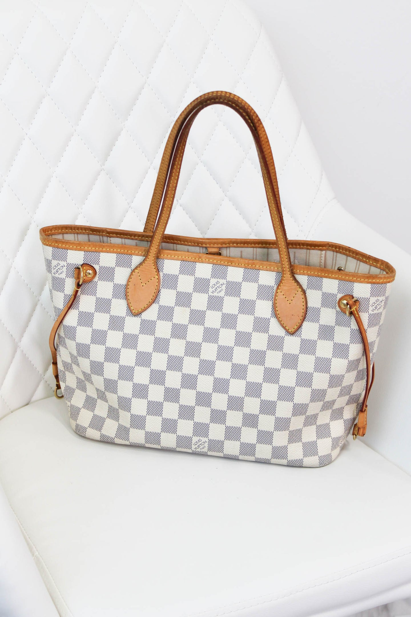 Louis Vuitton Azur Neverful PM