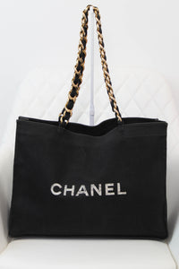 Chanel Canvas Tote