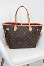 Load image into Gallery viewer, Louis Vuitton Fuschia Neverful MM