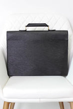 Load image into Gallery viewer, Louis Vuitton Black Epi Leather Briefcase