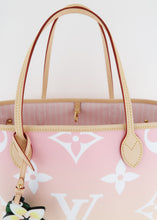 Load image into Gallery viewer, Louis Vuitton By The Pool Monogram Neverfull MM Light Pink