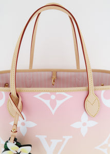 Louis Vuitton By The Pool Monogram Neverfull MM Light Pink