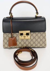 Gucci Padlock Top Handle Bag