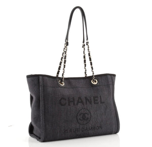 Chanel Black Small Deauville