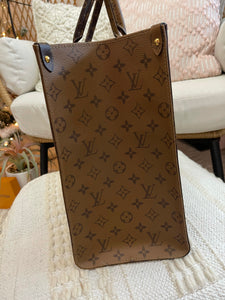 Louis Vuitton Giant Monogram Reverse OnTheGo GM