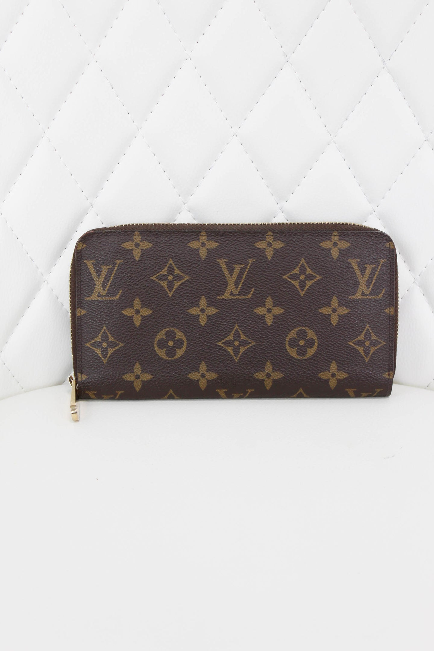LV Monogram Zippy Wallet