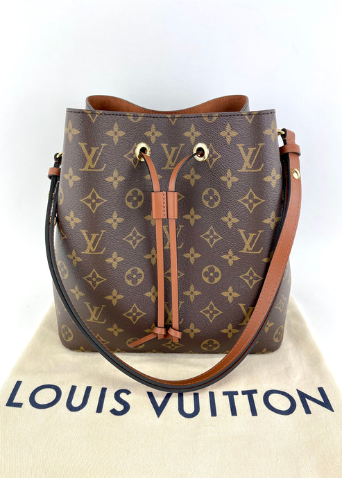 Louis Vuitton Monogram NeoNoe Carmel