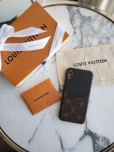 LV iPhone XS Max Phone Case