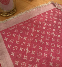 Load image into Gallery viewer, Louis Vuitton Monogram Pink Scarf