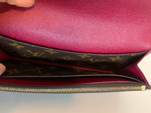 Load image into Gallery viewer, Louis Vuitton Monogram Fuchsia Emilie Wallet
