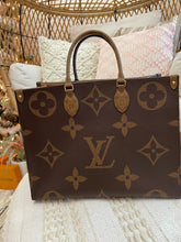 Load image into Gallery viewer, Louis Vuitton Giant Monogram Reverse OnTheGo GM